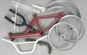 Велосипед покраска