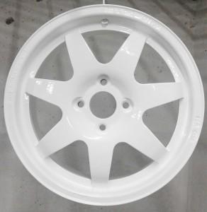 Покраска диска RAL9010