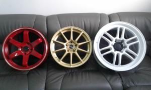 Красный, золотой, белый